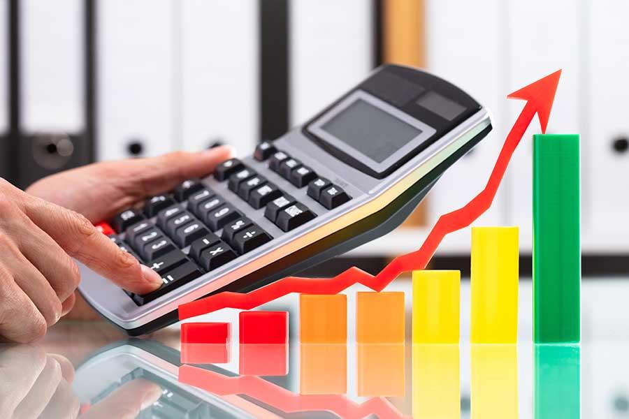 aumento prezzi di energia elettrica e gas